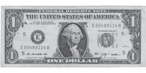 One US Dollar